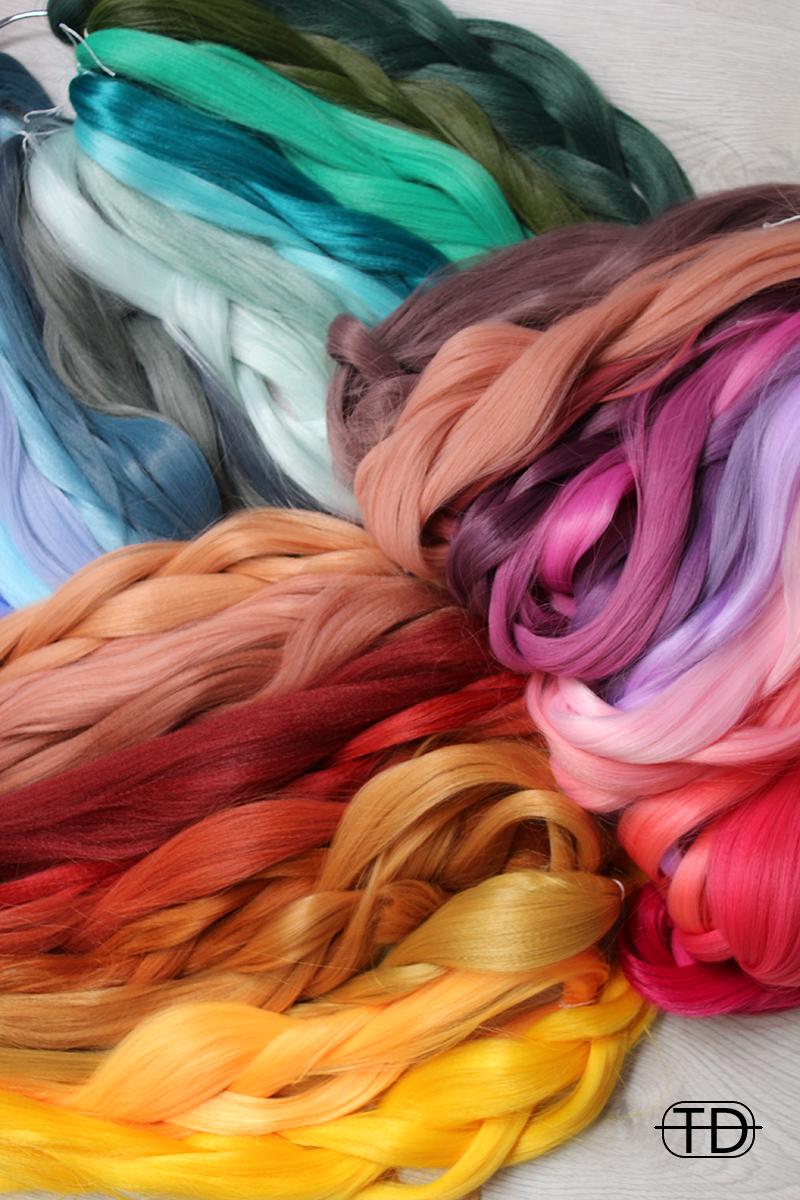 dreadsets in diversen kleuren
